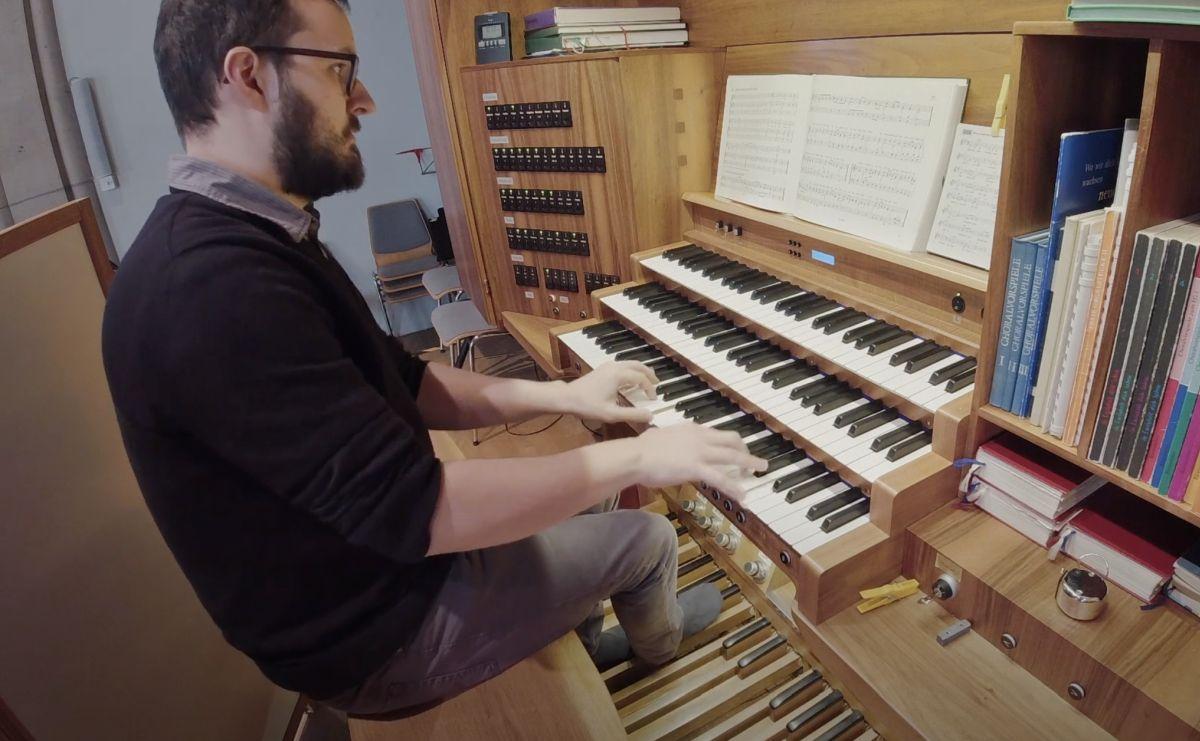 Wie nimmt man eine Orgel auf?